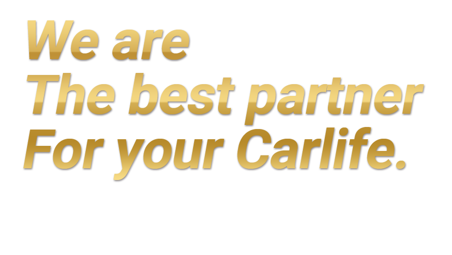 We Are The Best Partner For Your Carlife.